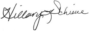 Hillary_Schieve_Signature